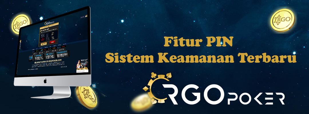 Fitur Pin Sistem Keamanan Terbaru Di Rgopoker Rgopokerinfo By Rgopoker Poker Onlie Dingdong Togel Online Judi Online